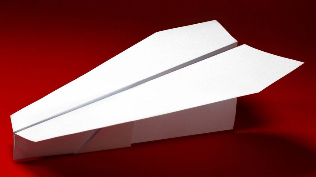 Make Paper Airplanes With Your Child