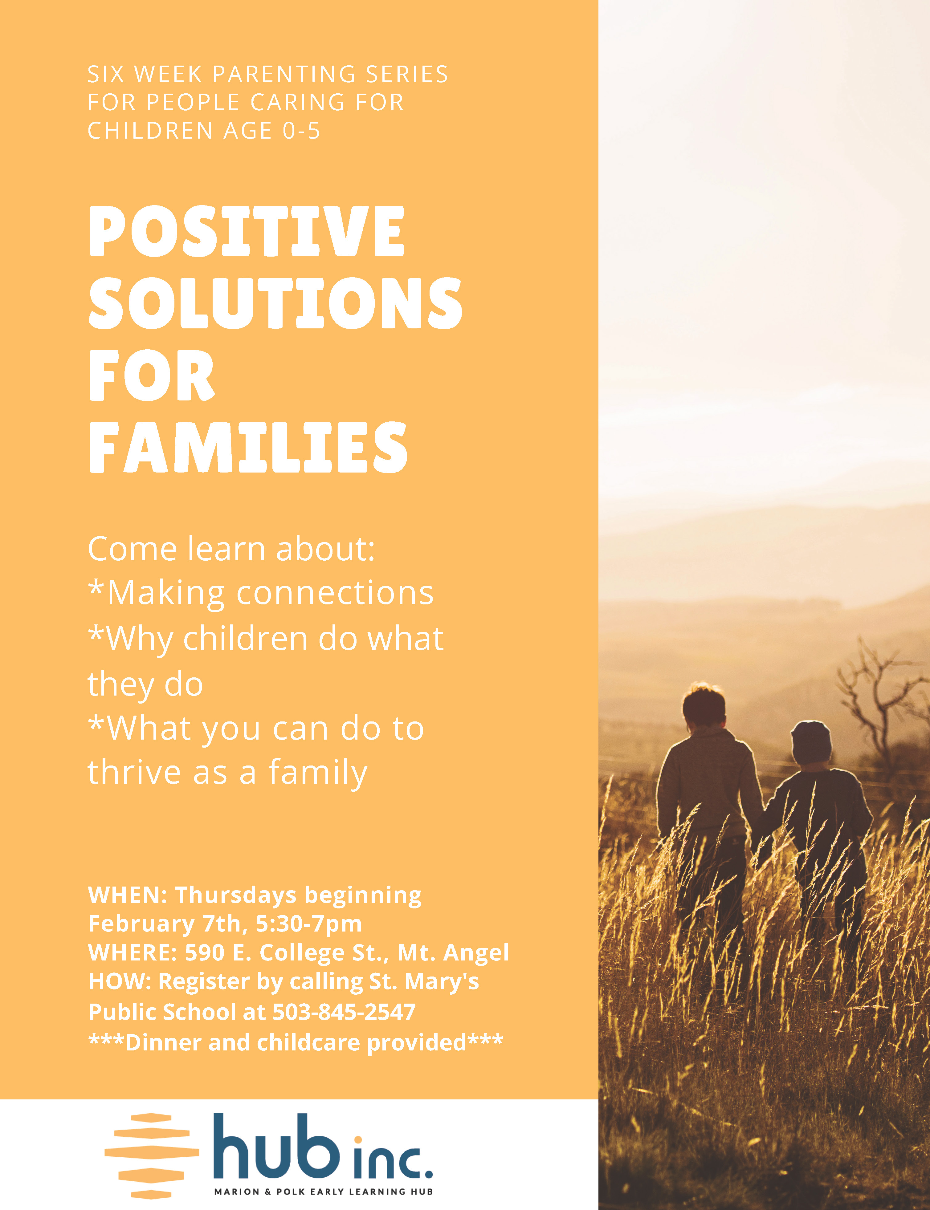 Positive Solutions for Families (English & Spanish) - Marion