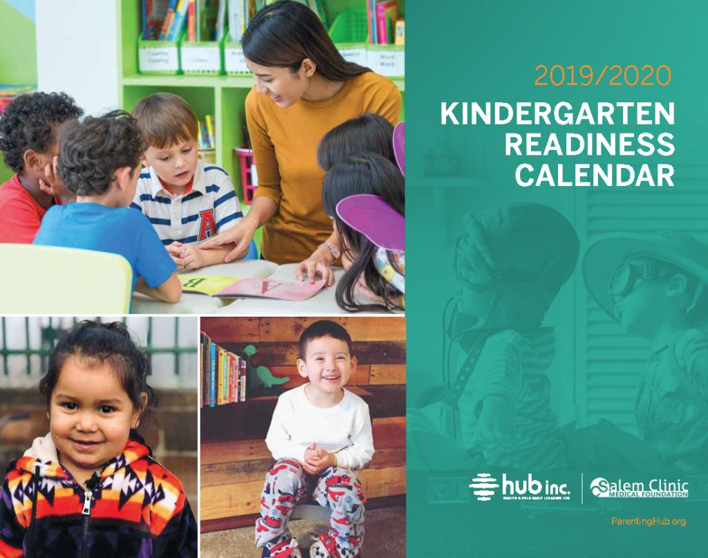 Flier: 2019-2020 Kindergarten Readiness Calendar