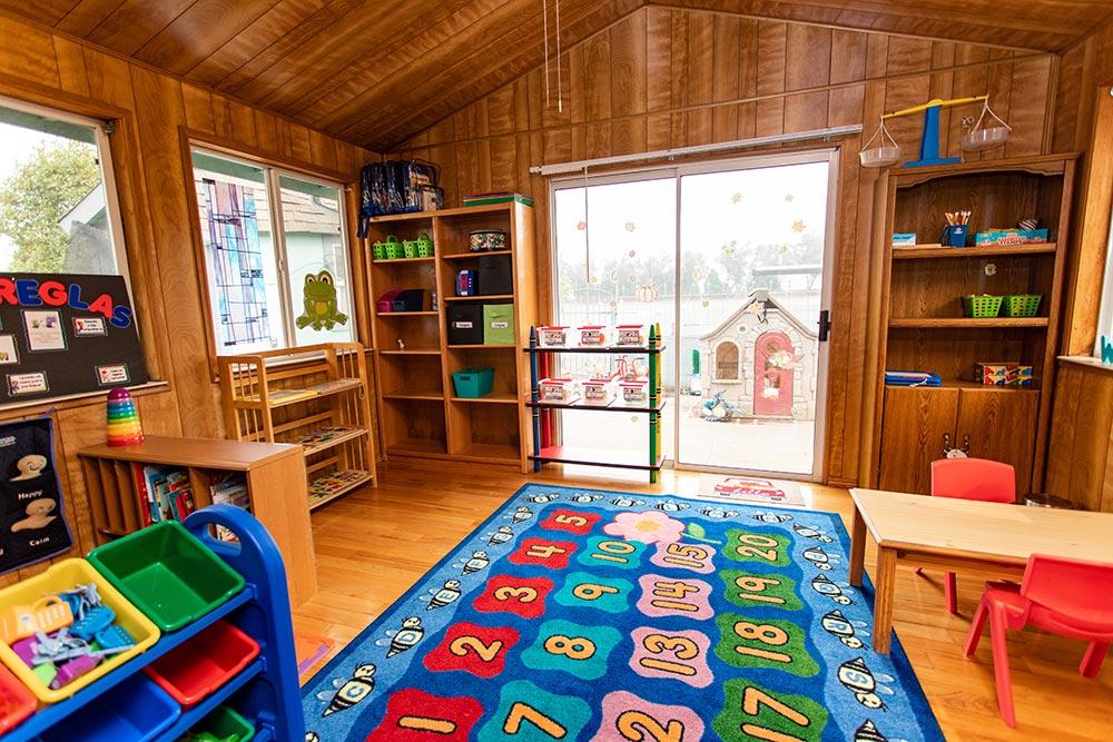 Analuisa Ayala Woodburn playroom with door
