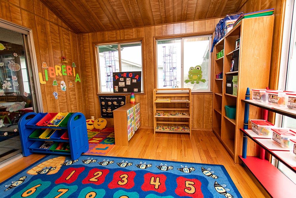 Analuisa Ayala Woodburn playroom
