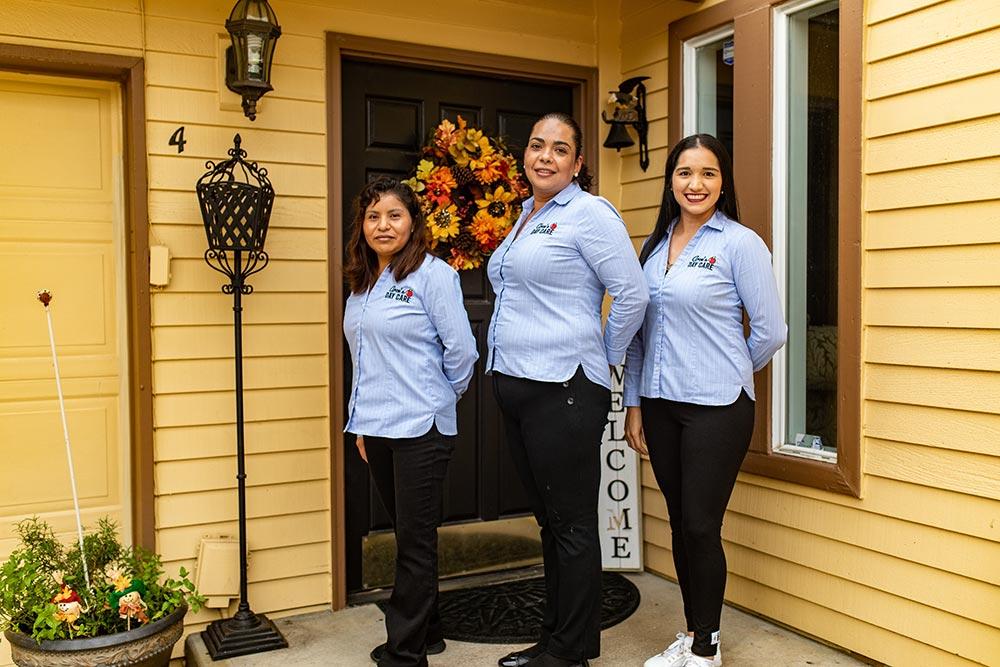 Arce's Daycare staff