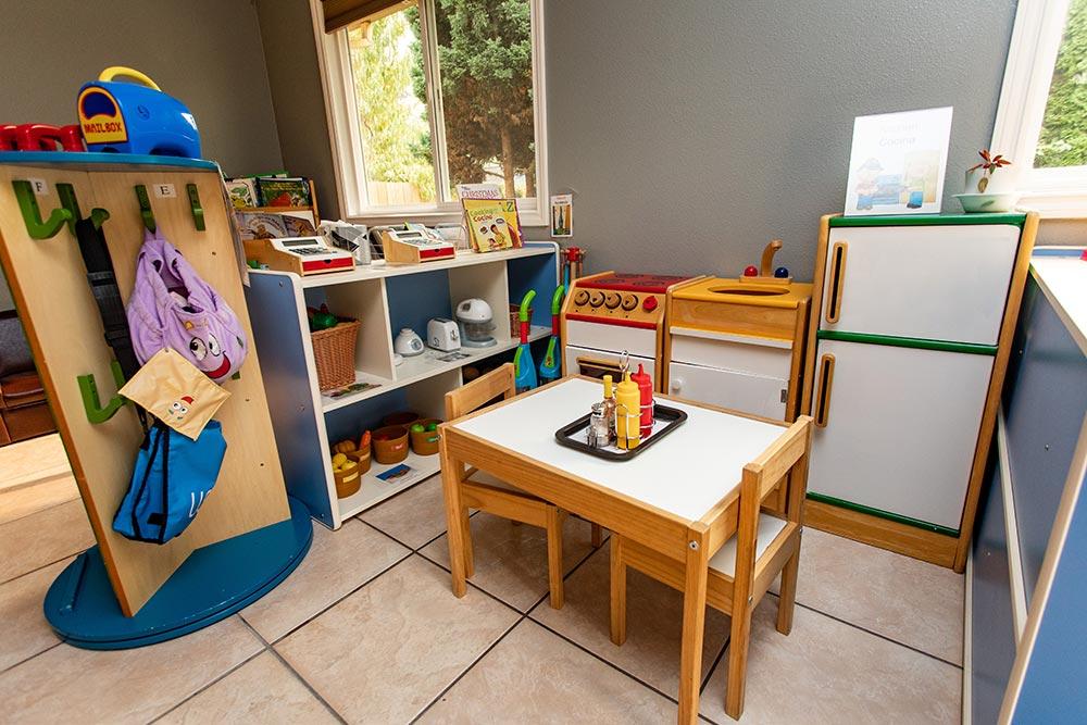 Arce's Daycare play kitchen