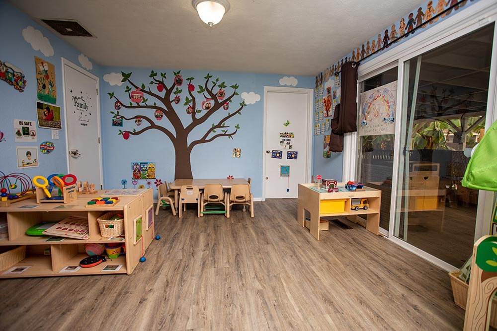 Busy Beez Daycare classroom