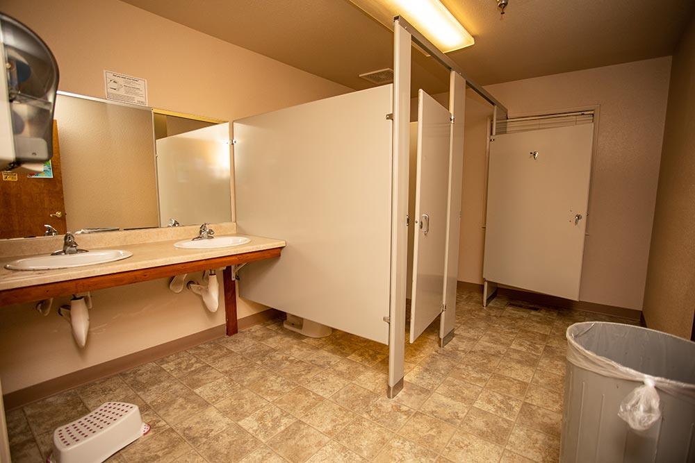 Faces of America bathroom