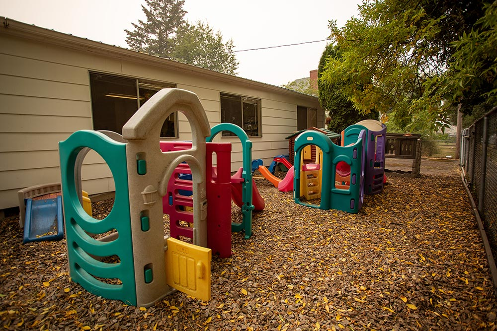 Faces of America outdoor play area