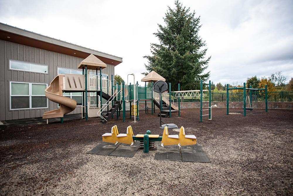 The Confederated Tribes of Grand Ronde playground