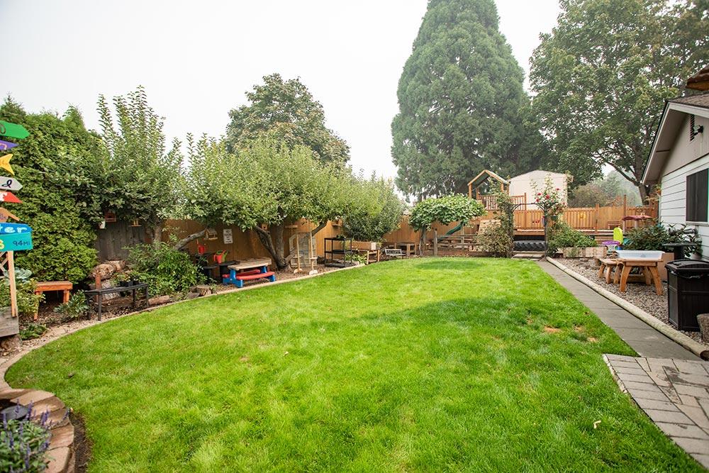 Island Adventures Childcare and Preschool grass yard