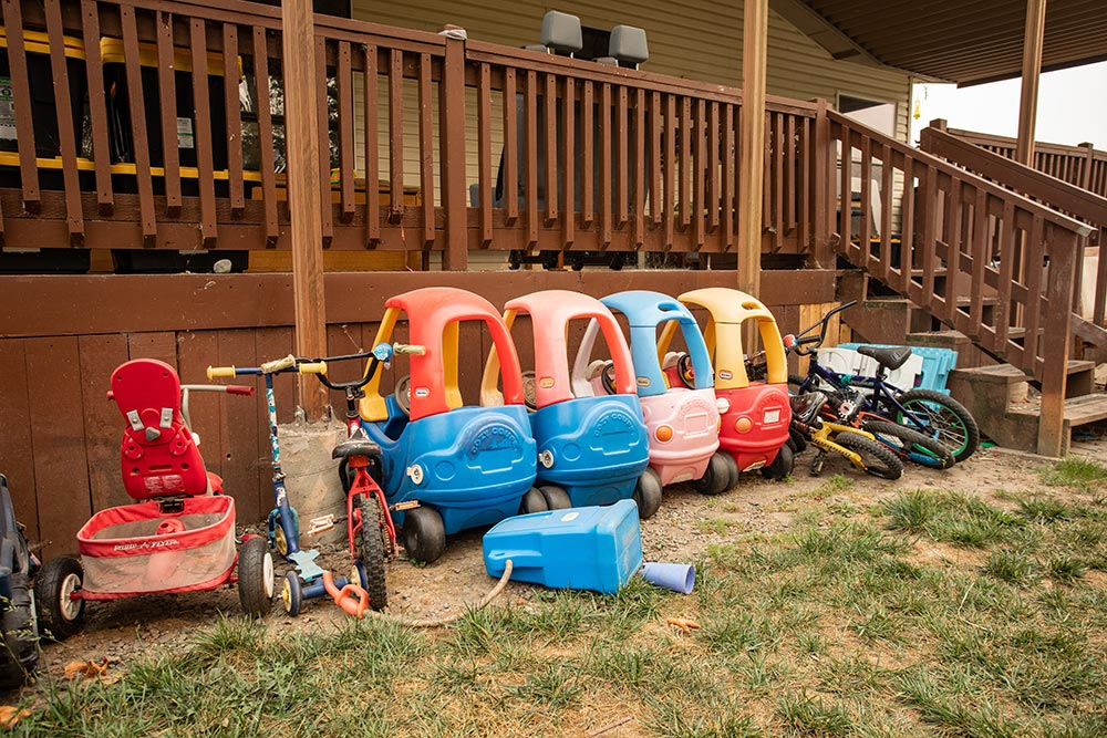Laugh N Learn Academy Daycare toy cars, bikes, tricycles