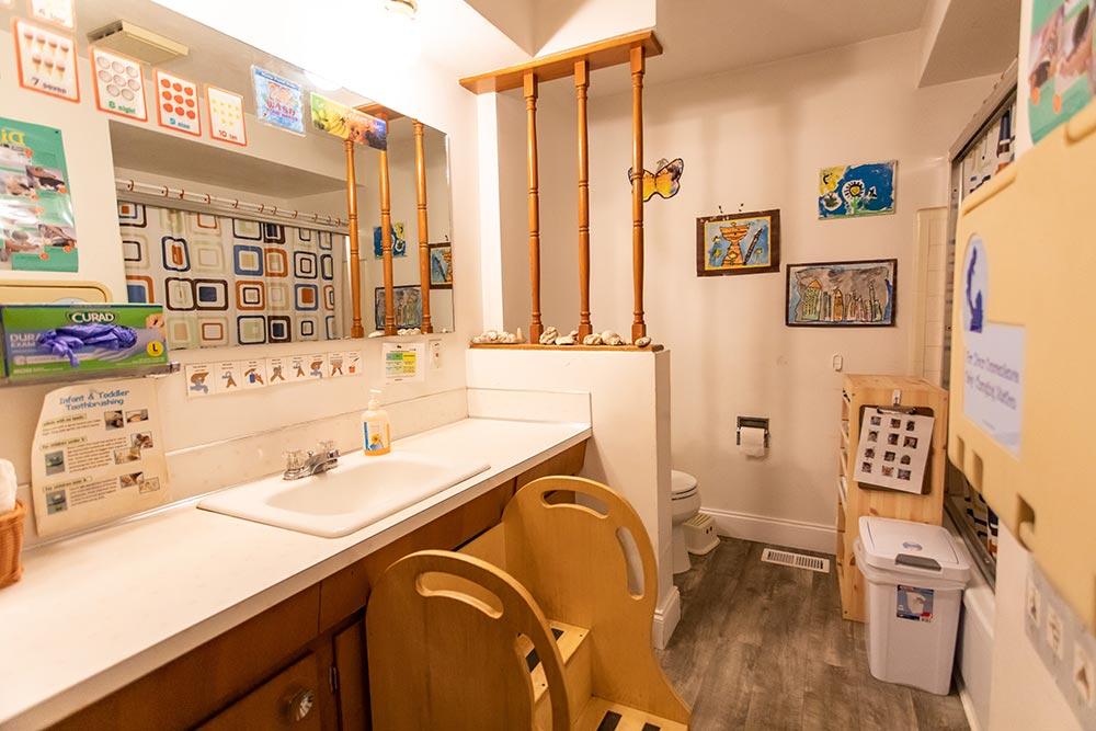 Loving Beginnings Childcare & Preschool bathroom