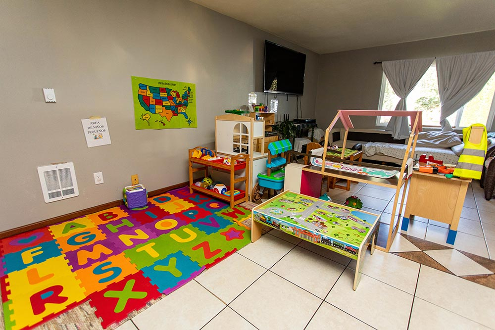 Maria's Daycare & Preschool classroom