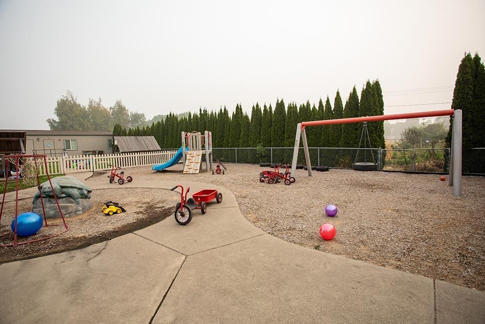 Oregon Child Development Coalition Concordia Salem outdoor playground