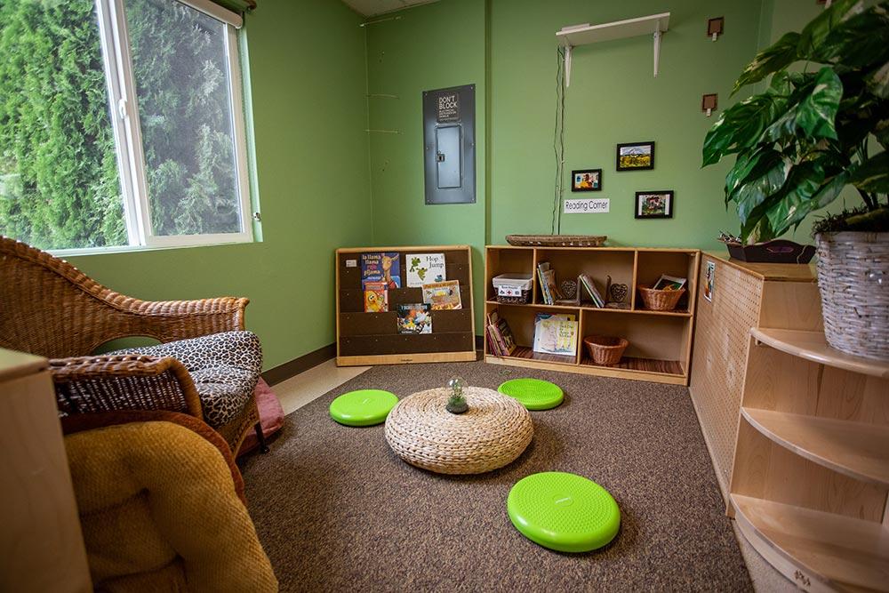 Oregon Child Development Coalition Concordia Salem reading lounge