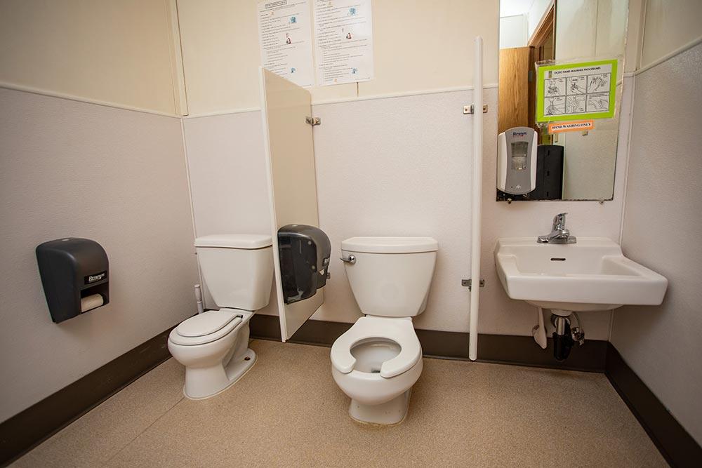 Oregon Child Development Coalition Concordia Salem bathroom