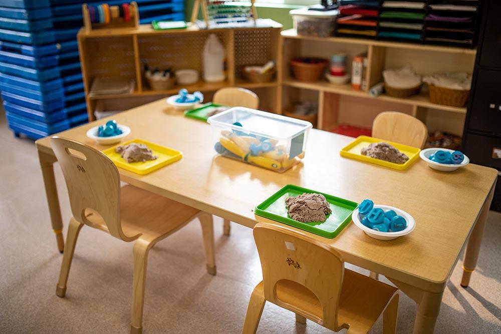 Oregon Child Development Coalition Concordia Salem play sand and molds