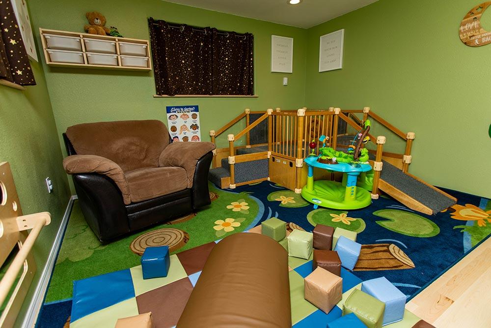 Precious Cargo Preschool indoor play area