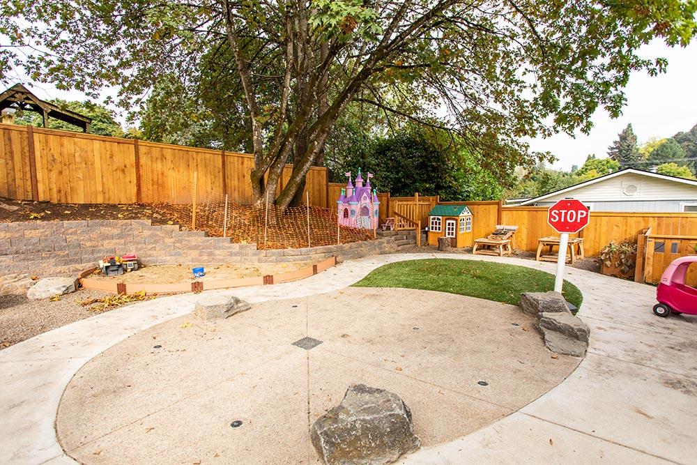 Precious Cargo Preschool playground race track