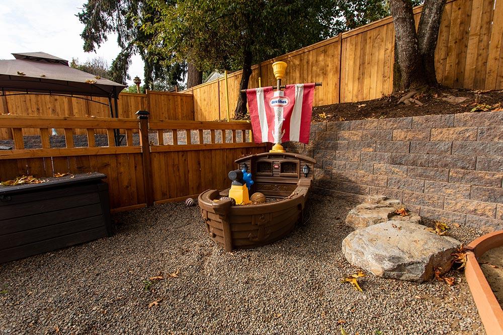Precious Cargo Preschool Playground pirate ship