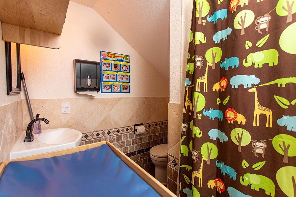 Precious Cargo Preschool bathroom