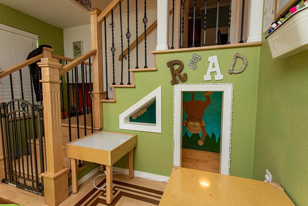 Precious Cargo Preschool reading cubby