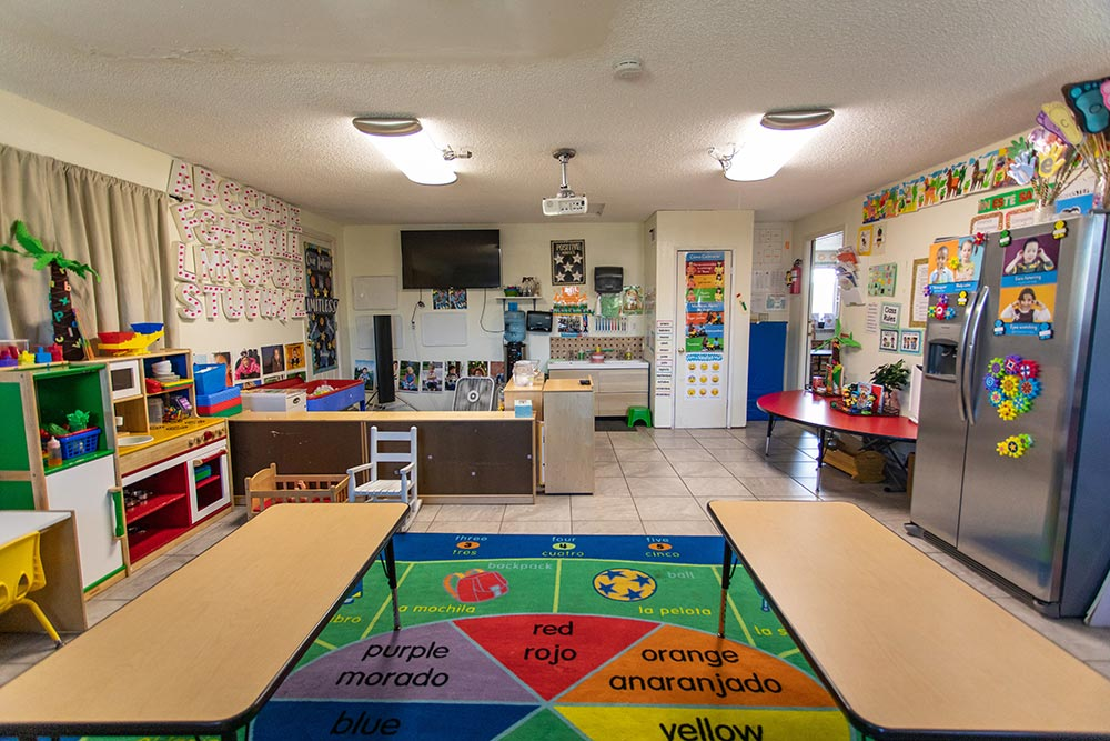 Preescolar Day Care Jalisco classroom in kitchen