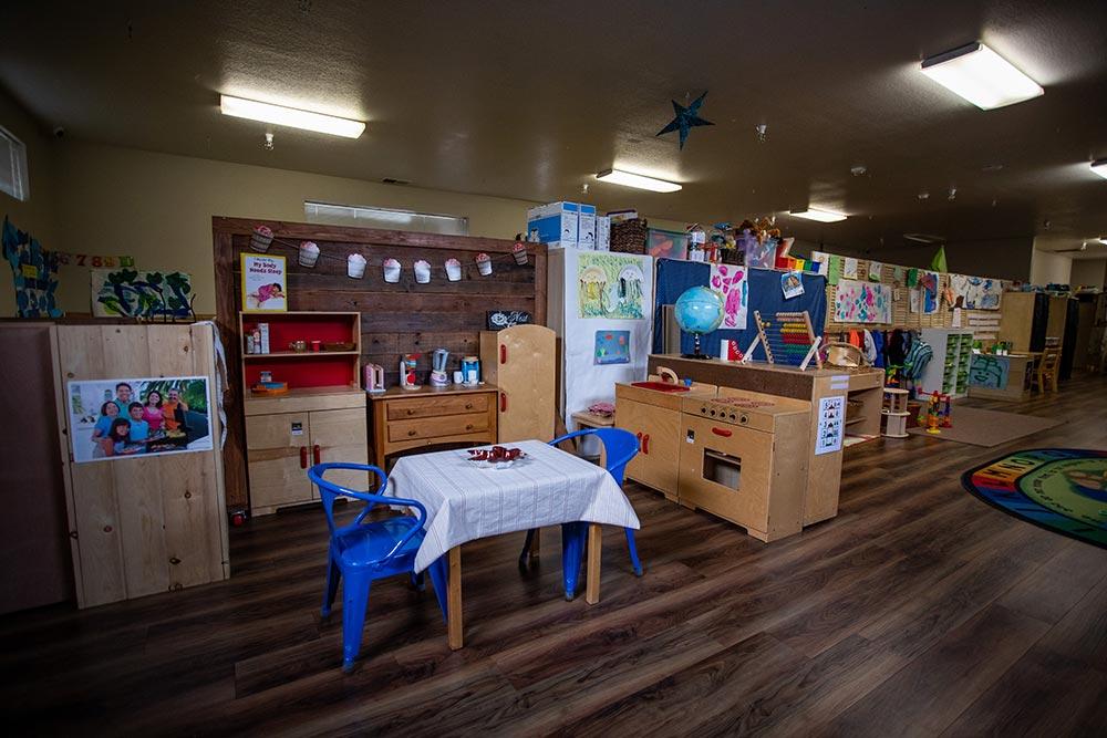 Priceless Treasures Preschool indoor play kitchen