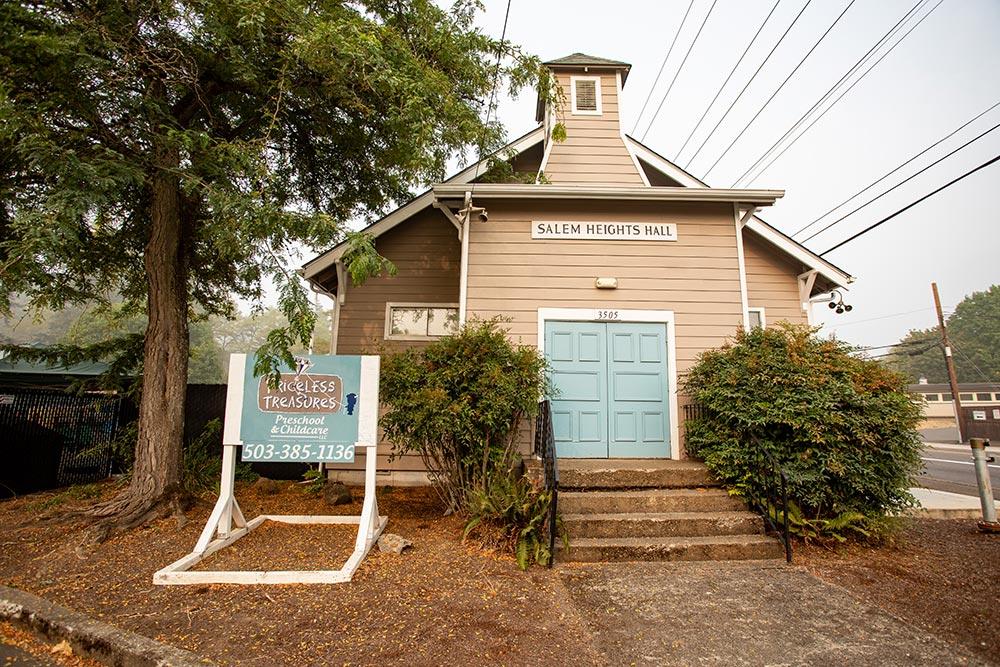 Priceless Treasures Preschool & Childcare school house building