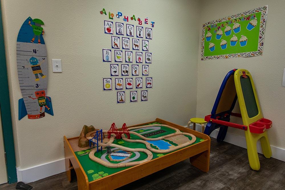 Salem Christian Academy learning area