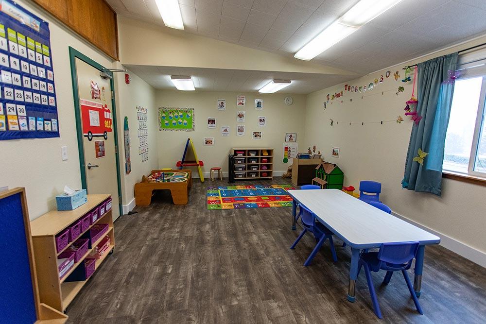 Salem Christian Academy classroom