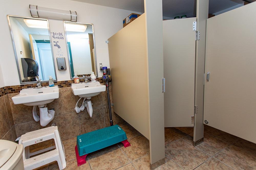 Salem Christian Academy bathroom