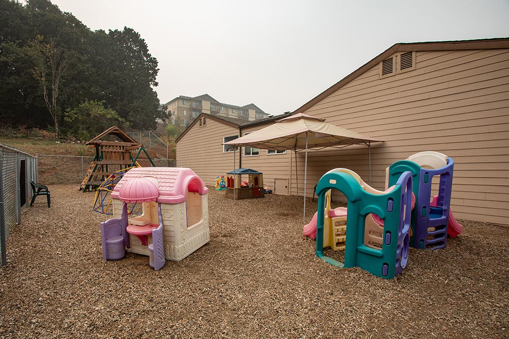 Salem Christian Academy outddoor playground
