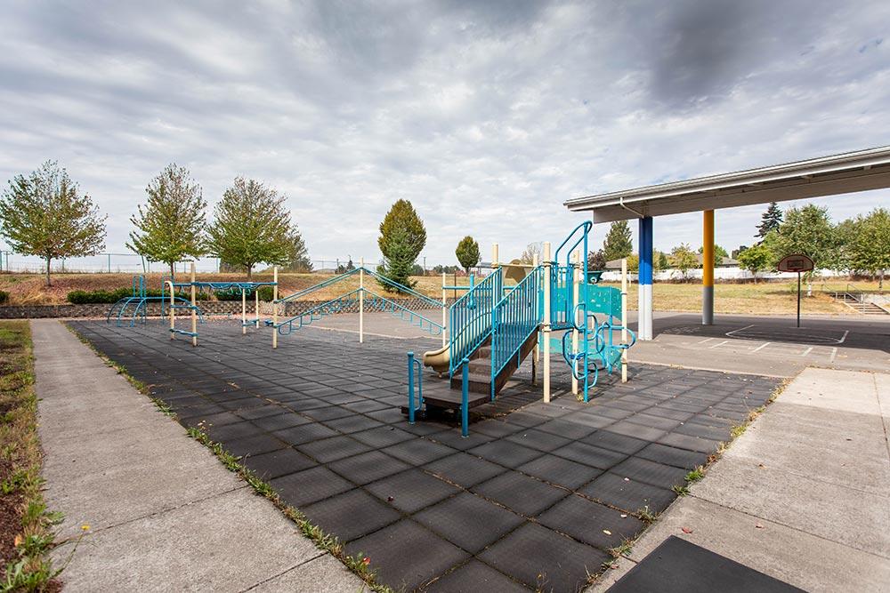 Salem-Keizer School Hallman outdoor playground