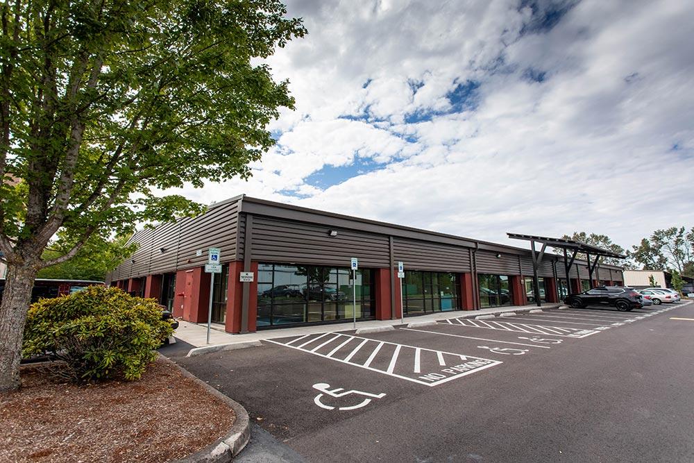 Salem-Keizer School Seymour Center handicap parking spaces