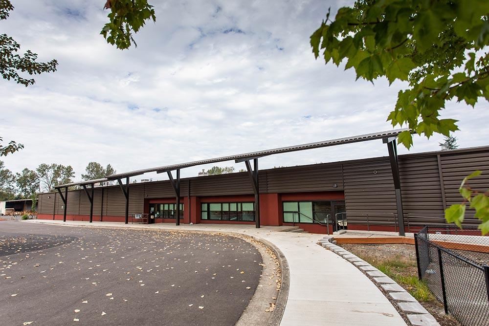 Salem-Keizer School Seymour Center outside drive