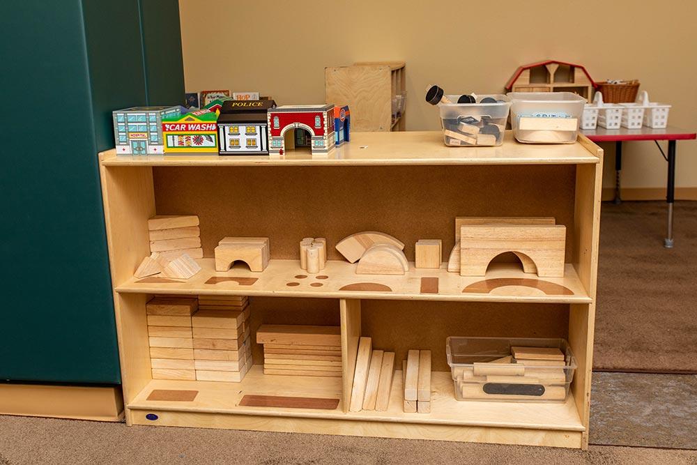 Salem-Keizer School Seymour Center wood building blocks