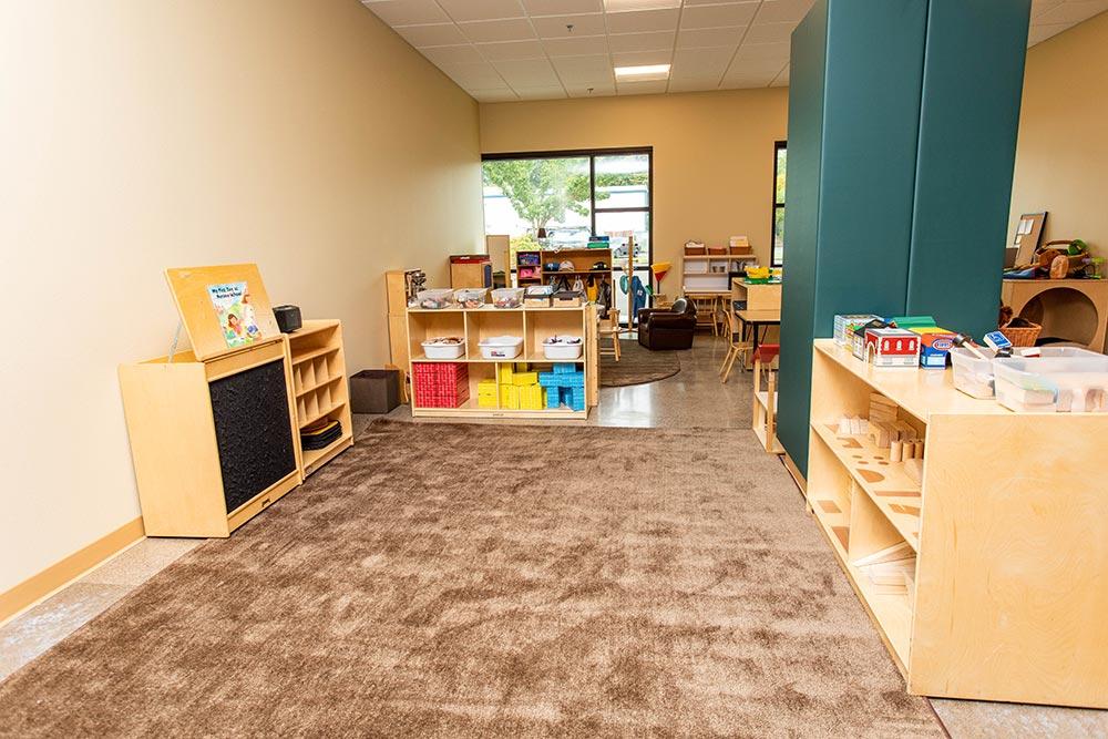 Salem-Keizer School Seymour Center bins and blocks
