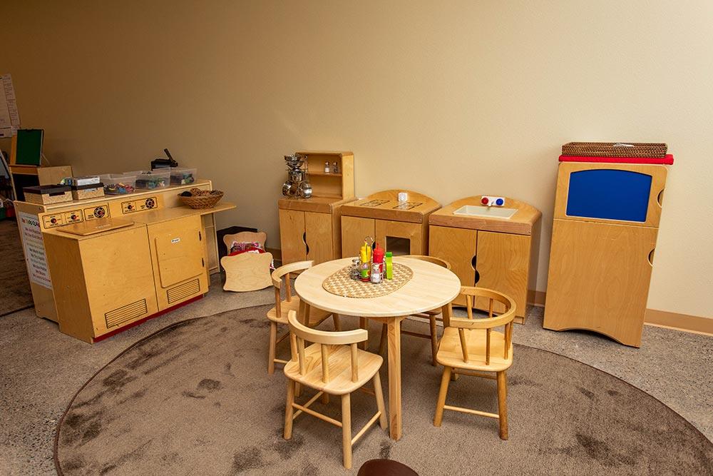 Salem-Keizer School Seymour Center play kitchen