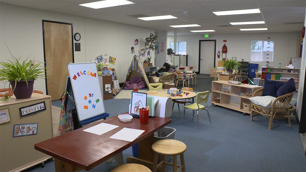 Western Oregon University Child Development Center classroom