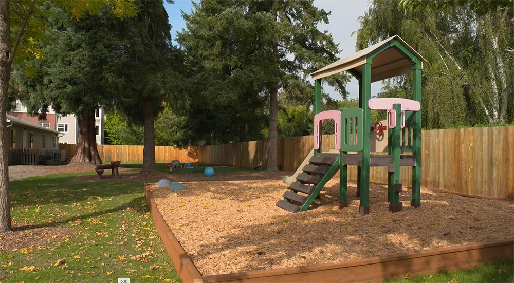 Woodburn School play yard