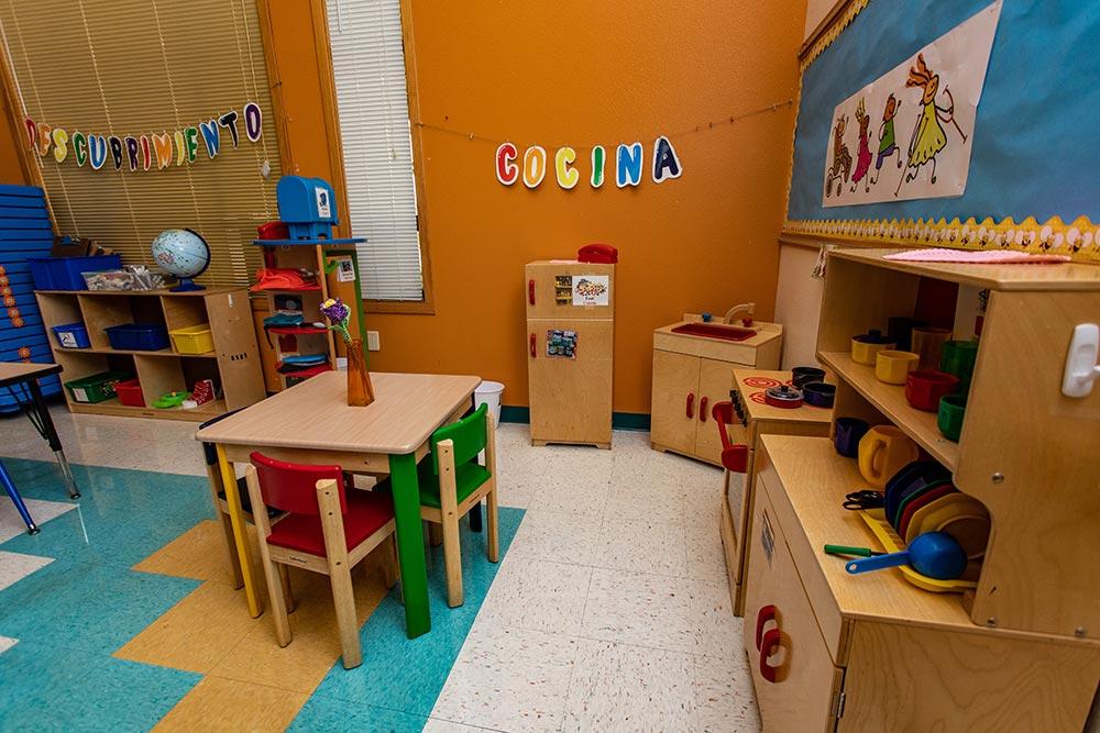 Woodburn School play kitchen