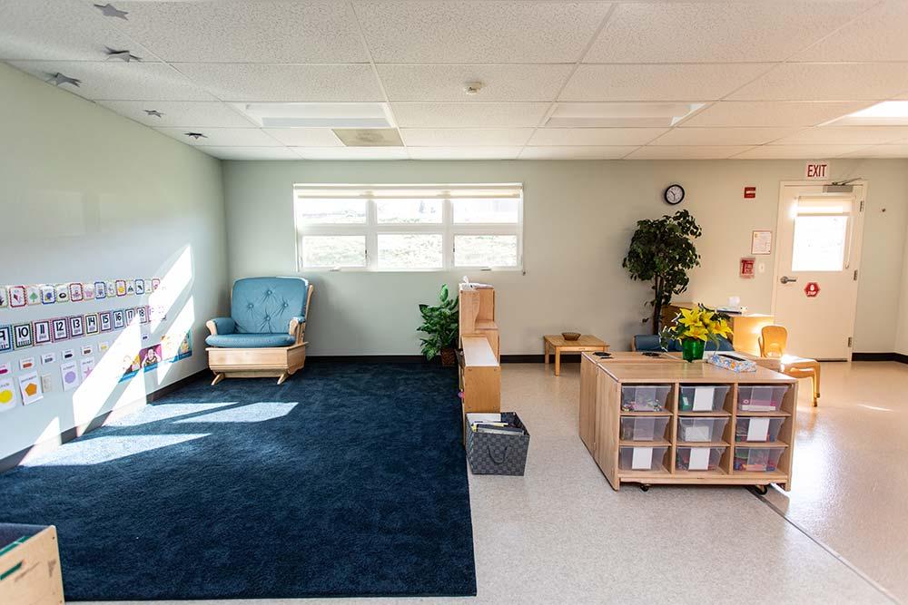 Classroom area.