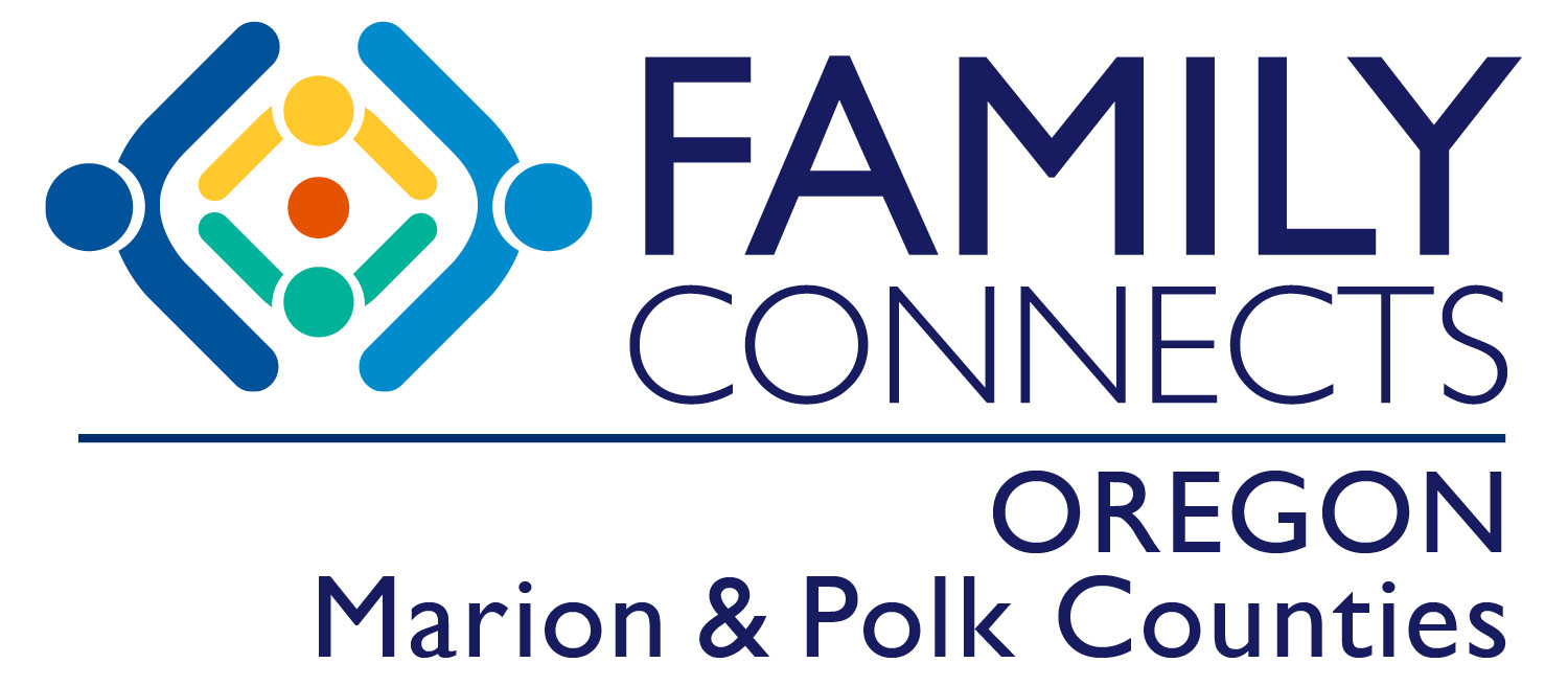 Family Connects Oregon Marion and Polk Counties Logo